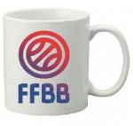 Mug Blanc 33cl FFBB